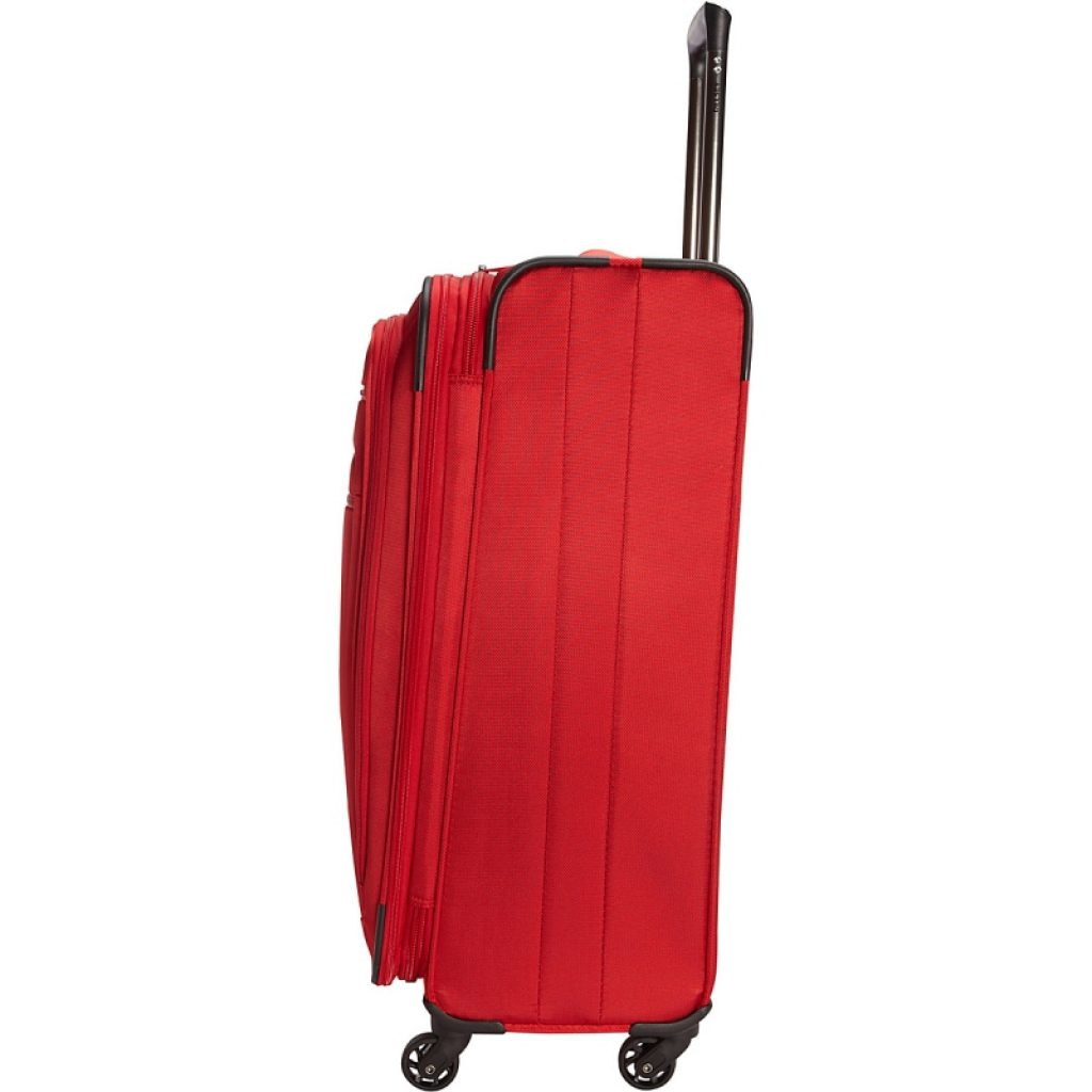 Best Lightweight Luggage Set Red