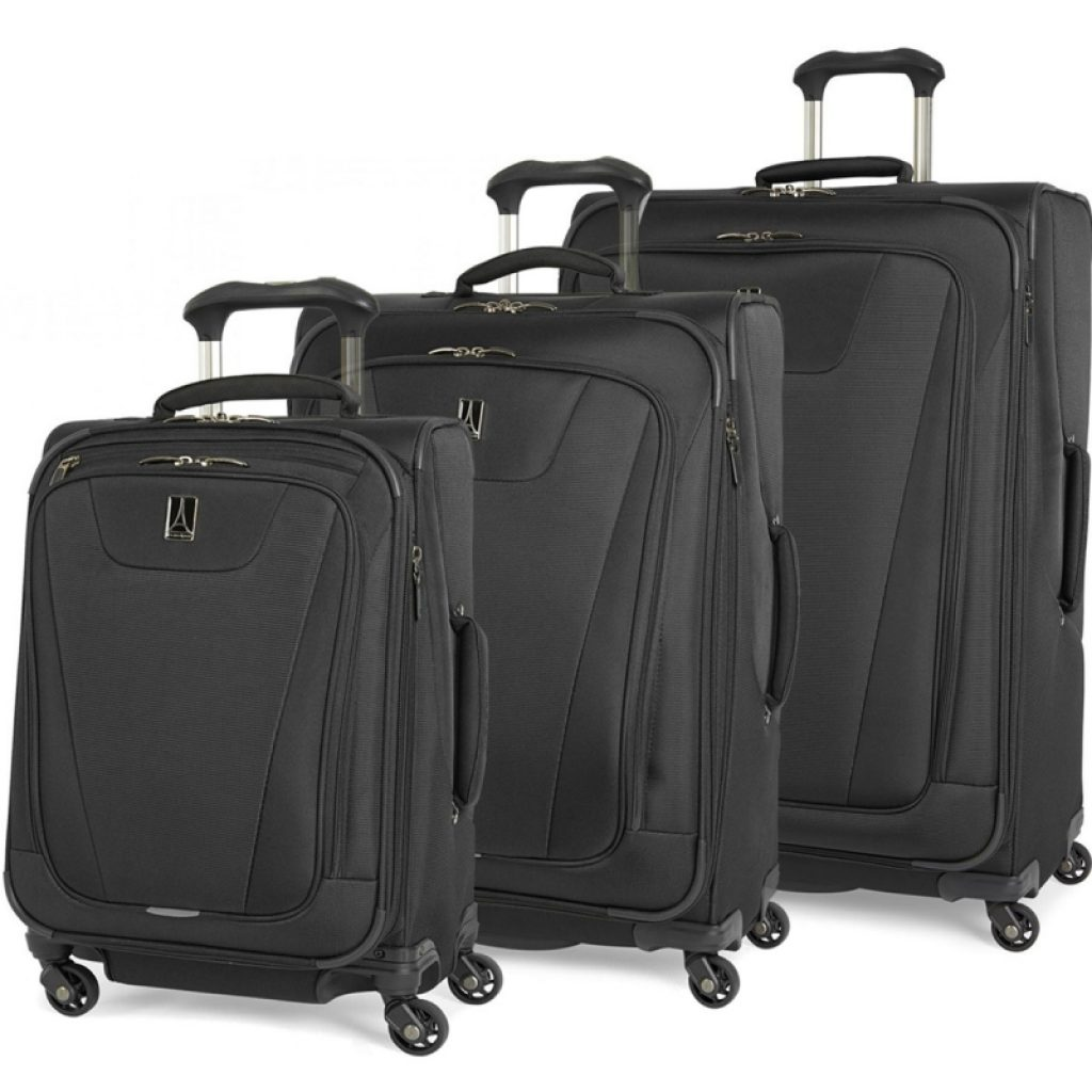 Best Lightweight Luggage Set Black