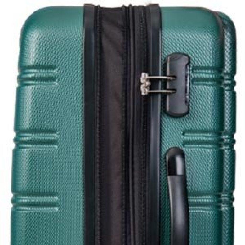 Best Lightweight Luggage Set Side Lock