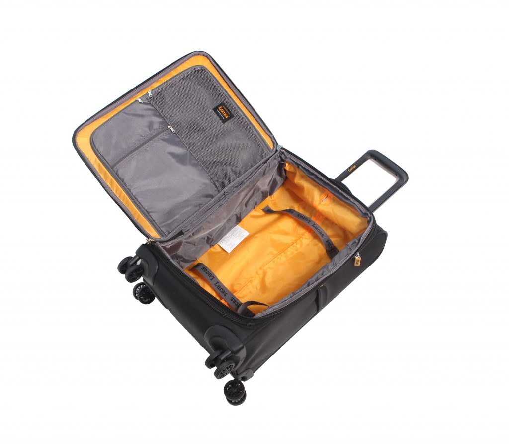Best Lightweight Luggage Set Interior