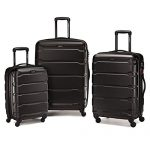 Samsonite Omni PC 3 Piece Set Spinner 20 24 28 Black One Size