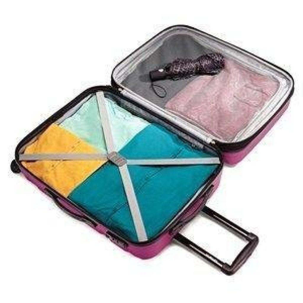 Best Lightweight Luggage Set Interior