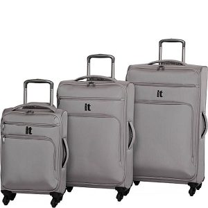 IT World's Lightest Suitcase Set Review Grey