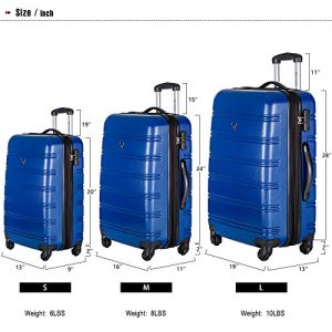 Merax Travelhouse Luggage Review Size