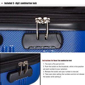 Merax Travelhouse Luggage Review Lock