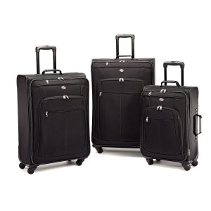 American Tourister Pop Plus Set Review black