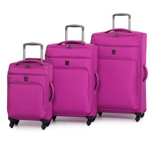 IT World's Lightest Suitcase Review Pink