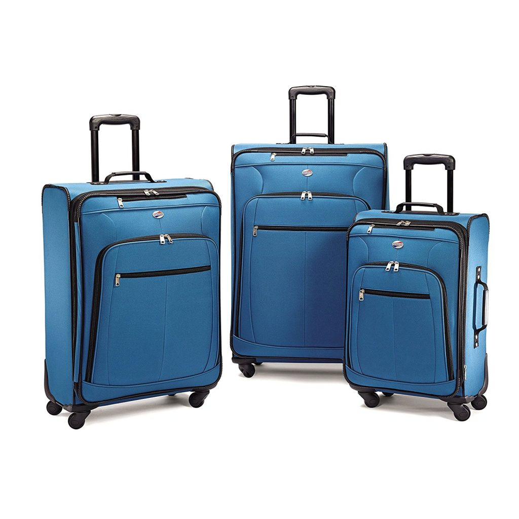 American Tourister Pop Plus Set blue