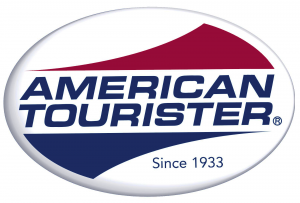 American Tourister luggage logo