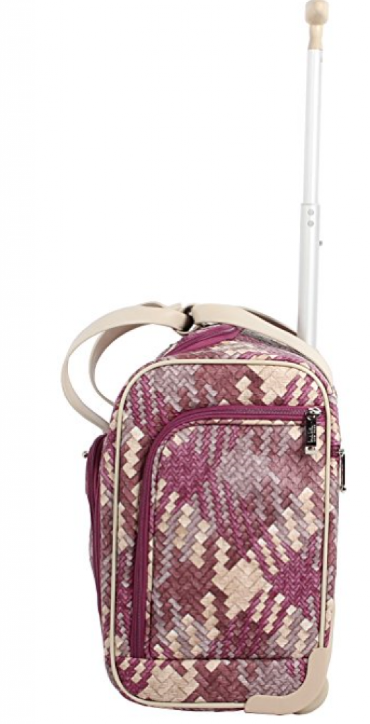 nicole miller luggage reviews
