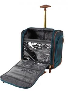 Steve Madden Wheeled Under the Seat Bag pockets