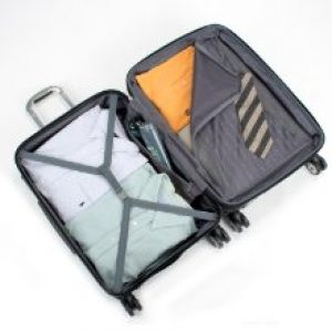 delsey carry on luggage pocket