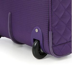 aerolite underseat case wheel purple