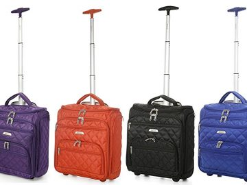 color aerolite underseat luggage review