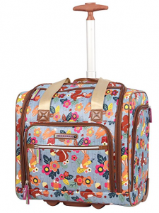 lily bloom suitcase