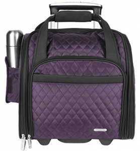 travelon wheeled underseat carry on bag