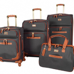steve madden 4 piece spinner luggage