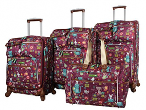 lily bloom suitcase reviews