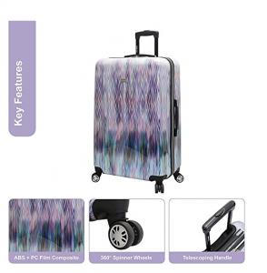 steve madden purple luggage