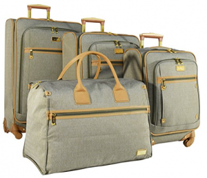 nicole miller luggage sets