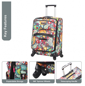 lily bloom luggage reviews