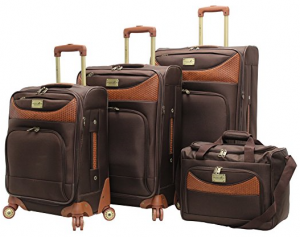 caribbean joe luggage set