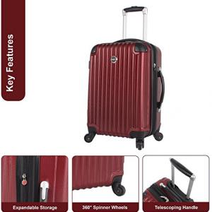 lucas luggage hard shell