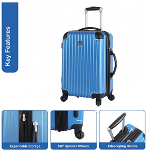 lucas carry on luggage reviews
