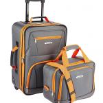 rockland 2 piece luggage set