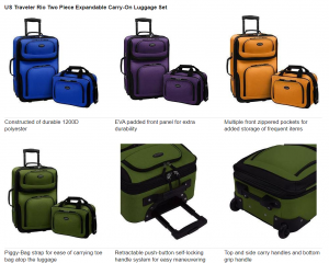 us traveler luggage reviews