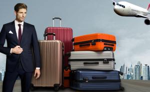 merax suitcase