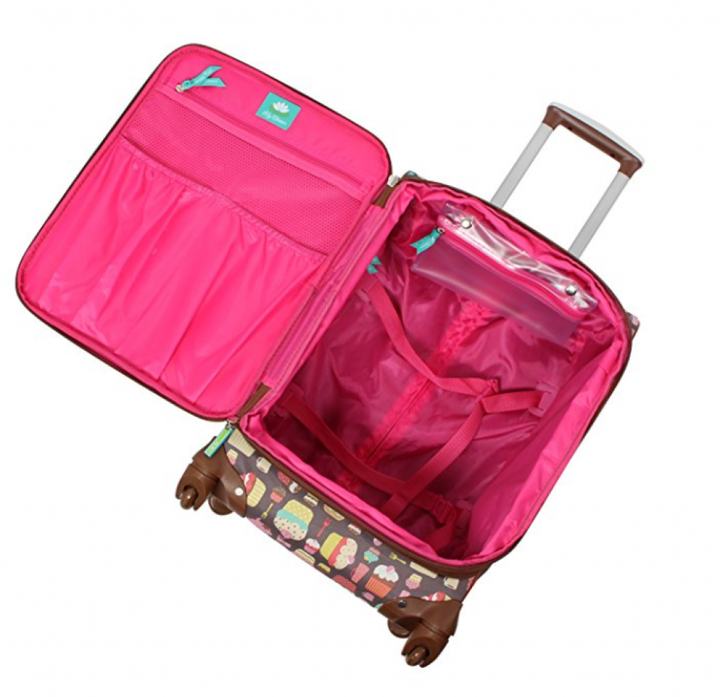 lily bloom luggage set