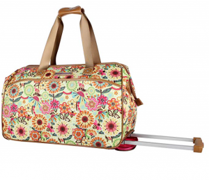 lily bloom duffle bag