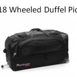 2018 wheeled duffel picks