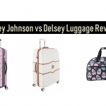 Betsey Johnson luggage vs Delsey Luggage Review