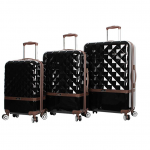 nicole miller hardside luggage set