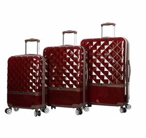 nicole miller hardside luggage set