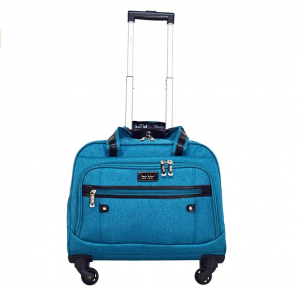 Nicole Miller New York Taylor Carry On Spinner Briefcase