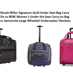 bebe luggage reviews nicole miller luggage