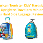 American Tourister Kids' Hardside Upright vs Travelpro Minions Kid's Hard Side Luggage Reviews