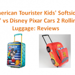 "3. American Tourister Kids' Softside 18"" Upright vs Disney Pixar Cars 2 Rolling Lightning McQueen Luggage Suitcase: Reviews"