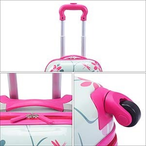 Goplus 2Pc Kids Carry On Luggage Set