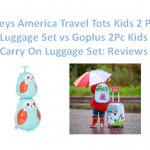 6. Heys America Travel Tots Kids 2 Pc Luggage Set vs Goplus 2Pc Kids Carry On Luggage Set: Reviews