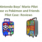 Nintendo Boys' Mario Pilot Case vs Pokemon and Friends Pilot Case Reviews