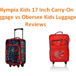 Olympia Kids 17 Inch Carry-On Luggage vs Obersee Kids Luggage Reviews