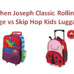 Stephen Joseph Classic Rolling Luggage vs Skip Hop Kids Luggage