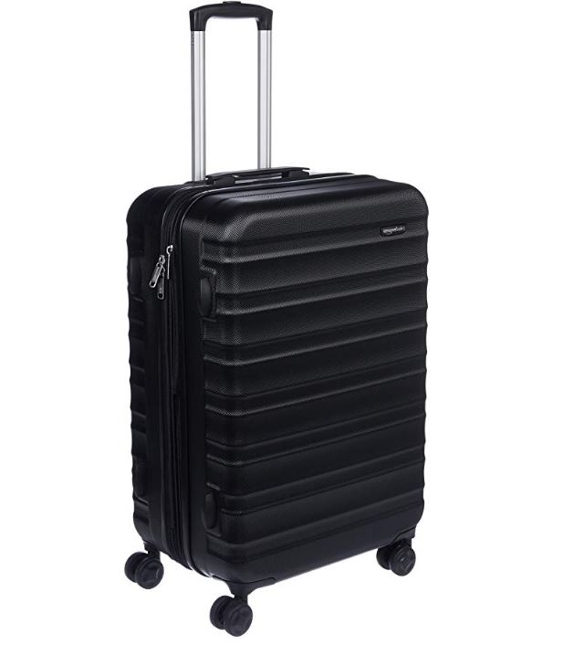 5b7aa2384f15 AmazonBasics 24 inches Hardside Spinner Luggage Review 2019 ...
