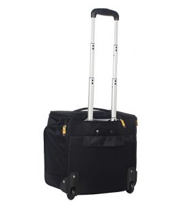 "Lucas Luggage 15"" Carry On Expandable Wheeled Under Seat Bag with USB Port Review"